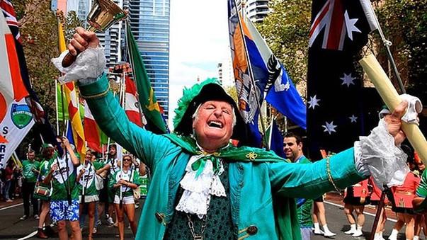 Sydney saint patrick day
