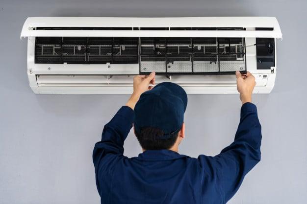 Technician service air filter