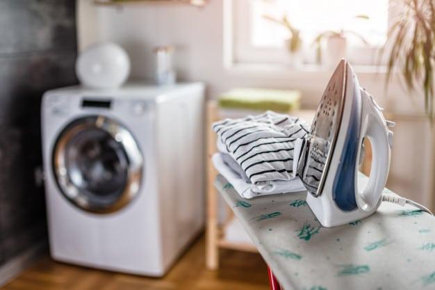 Ironing laundry room