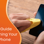 Experts' guide to cleaning your mobile phone custom graphic