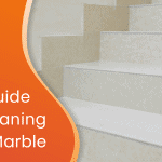 Marble cleaning guide custom graphic