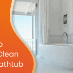 How to deep clean your bathtub custom graphic