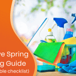 The definitive spring cleaning guide custom graphic
