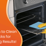 2 simple solutions to clean oven racksfor gleaming results custom graphic