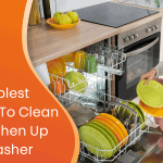 The simplest method to clean and freshen up a dishwasher custom graphic