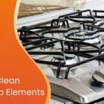 how to clean stove top elements custom graphic