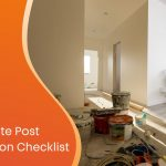 the ultimate post construction cleaning checklist custom graphic