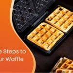 six simple steps to clean your waffle maker