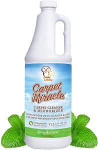 Carpet Miracle Concentrated Machine Shampoo, Stain Remover 948 ml bottle